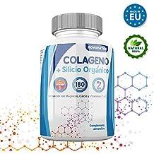 Colageno, Colageno hidrolizado con magnesio, calcio, vitamina C y D, mas Silicio
