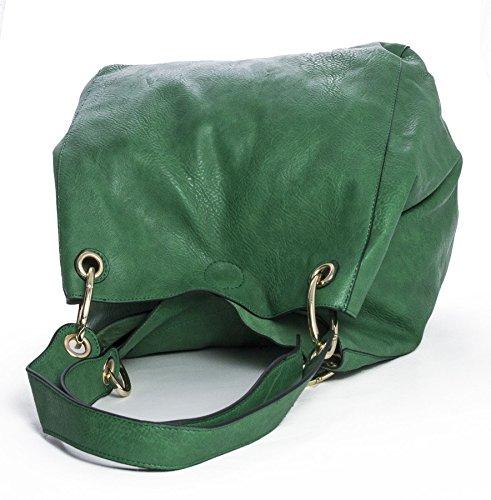 Big Handbag Shop - Sacchetto donna Teal