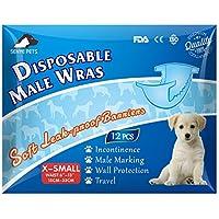 Pañales desechables para perro para hombre