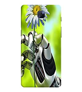 GADGET LOOKS PRINTED BACK COVER FOR ONE PLUS THREE MULTICOLOR