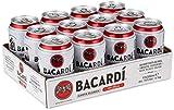 Bacardi Carta Blanca und Cola (12 x 0.33 l)