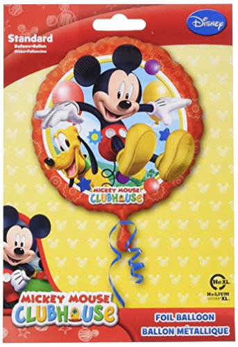 Clubhaus Spielzeug Mickey-mouse (Folienballon Micky Maus Clubhaus, unbefüllt)