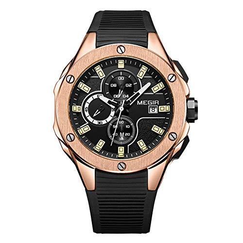 Megir - -Armbanduhr- 2053