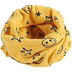 Cuello amarillo para niñas y niños ideal para el invierno