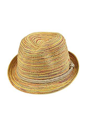 Sonnenschutz-Hut - SODIAL(R) Mehrfarbiger Damen Sonnenhut Strohhut Damenhut Sommerhut Sonnenschutz-Hut Urlaub Kappe