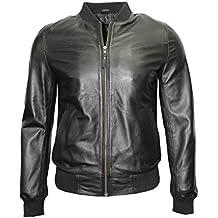 buy online f4d7d 4e662 Suchergebnis auf Amazon.de für: Bomberjacke Leder - Bomberjacken