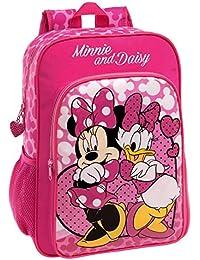 Disney 44923A1 Minnie & Daisy Nice Day Mochila Escolar, 15.6 Litros, Color Rosa