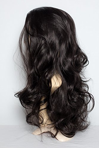 elegant-hair-22-ladies-wavy-3-4-half-wig-darkest-brown-2-high-quality-kanekalon-heat-resistant-synth