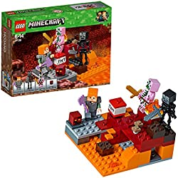 Lego Minecraft Lotta nel Nether,, 21139
