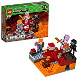 Lego Minecraft Lotta nel Nether, Multicolore, 21139