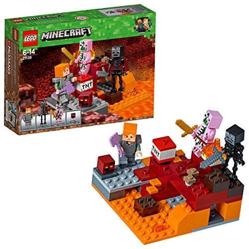 LEGO UK 21139 Minecraft The Nether Fight Construction Toy