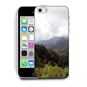 Snoogg Tall Trees Printed Protective Phone Back Case Cover For Apple Iphone 6+ / 6 Plus