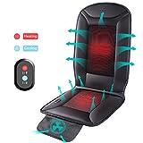 Naipo Auto Sitzkissen Beheizbar Sitzauflage mit Heizung- und Kühlungfunktion und 3D belüfteten Löchern Tragbar für Auto Zuhause Büro Stuhl, ganzjährige Benutzung