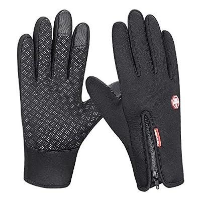 coskefy Winter Handschuhe Touchscreen Warm Winddicht Rutschfeste Radfahren Handschuhe Männer Frauen für Outdoor Fahren Klettern Wandern Laufen von coskefy auf Outdoor Shop