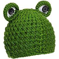 Gorrito para sesión de fotos de bebé hecho de croché y diseño de Navidad  Binlunnu f52f76d8632