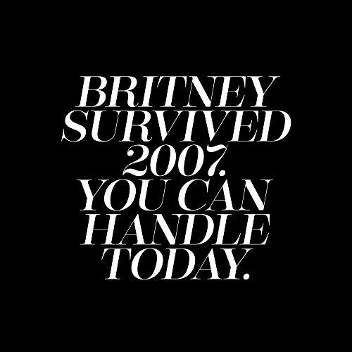 Apple iPhone 6 Bumper Hülle Bumper Case Glitzer Hülle Britney Spears Spruch Statements Bumper Case transparent grau