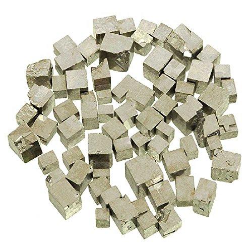 Naturosphère - Minéraux et fossiles C25 - Pierres brutes Pyrite cubique - 0.5 à 1.5 cm - 20 grammes