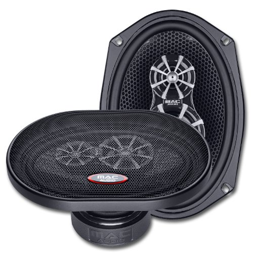 Mac Audio Performance X 69.3 - Altavoces de coche (sistema triaxial de...