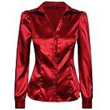 Produkt-Bild: Laeticia Dreams Damen Bluse Langarm S M L XL XXL