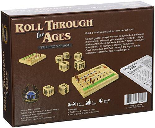 Imagen principal de Gryphon Games - Juego de tablero Roll through the ages  - The bronze age -  (versión en inglés)