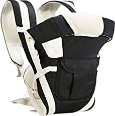 Ineffable Baby Carrier Shoulder Belt Sling Backpack Baby Holding Strap Adjustable Carry Bag Baby Carrier (Black, Front Carry Facing Out)