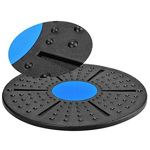 Ncient Balance Board Fitness- und Therapieboard Kreisel Reha Therapie Maximale Gewichtsbelastung bis zu 100 Kg, Durchmesser 40cm
