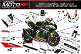 Aufkleber fur Motorrad grafiken Kawasaki Zx10r 2016 2017 SB17