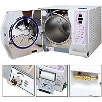 TTDENTAL Autoclave - Vapor de presión al vacío con impresora de datos (12 L, 220 V)