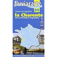 Voies Navigables - la Charente  - de la Rochelle a Angouleme - 25-(Anglais)