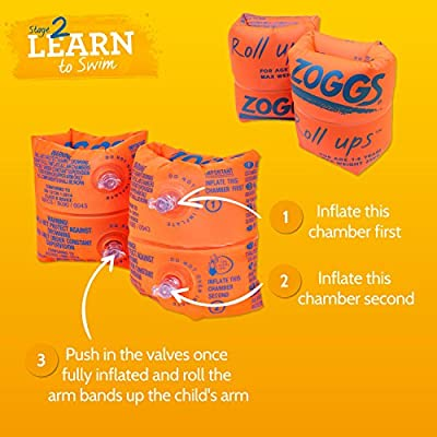 Zoggs Roll Ups - Easy Inflate