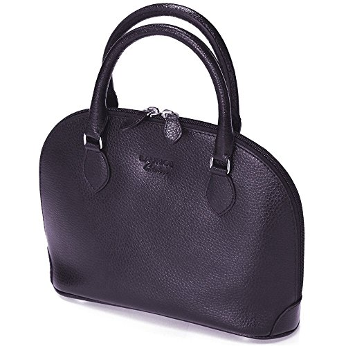 Mini sac New-york cuir Fabrication Luxe Française Violet