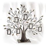lebensbaum f r mehrere fotos metall fotorahmen antik bilderrahmen. Black Bedroom Furniture Sets. Home Design Ideas
