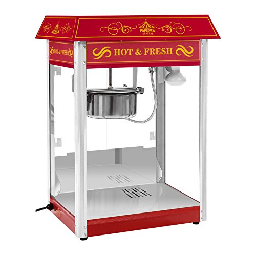 Royal Catering - RCPS-16.3 - Machine à popcorn rouge