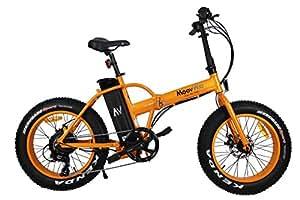 moovway velo electrique tout terrain pliable fatbike orange sports et loisirs. Black Bedroom Furniture Sets. Home Design Ideas