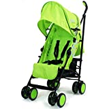 Best Lightweight Umbrella Strollers - Zeta Citi Stroller Buggy Pushchair - Lime Review