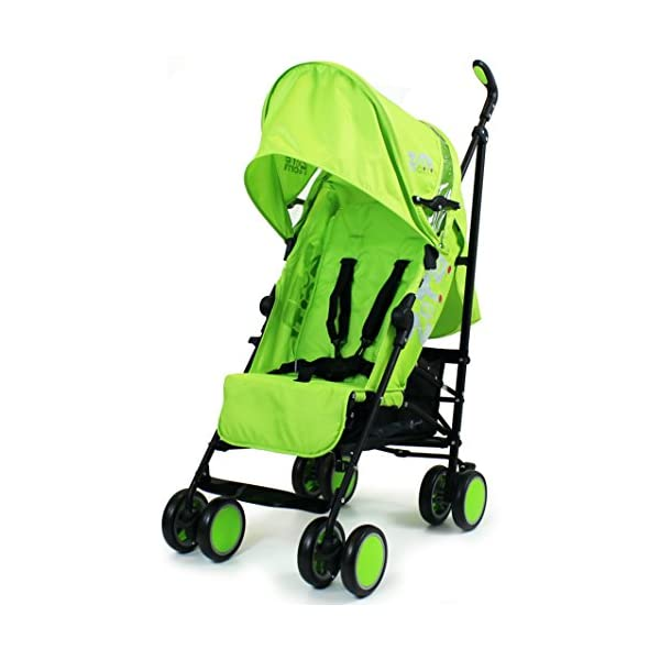 Zeta Citi Stroller Buggy Pushchair - Lime ZETA 12 Month FREE Warranty When Purchased and used from birth only. Warranty VOID If Purchased And Used For Babys Over 12 Months Lightweight stroller suitable for babies from Birth Umbrella fold for a compact folded size 1