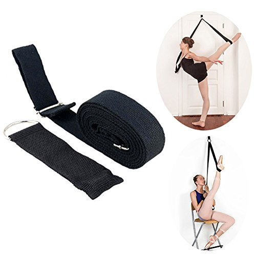 Ueasy Stretch Band Flexibility Band to Improve Leg Stretching For Ballet Dance And Gymnastics Exercise Training Home or Gym