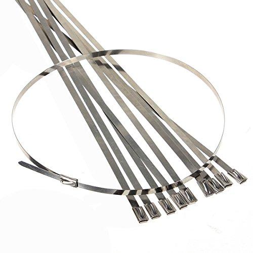 JenNiFer Selbstschließende 45 cm Kabelbinder Für Auspuff-Isolierband