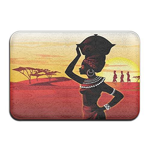 GHNN Mat Championnat d'Afrique du désert Peinture Home Paillasson Tapis de Sol 4060 antidérapant