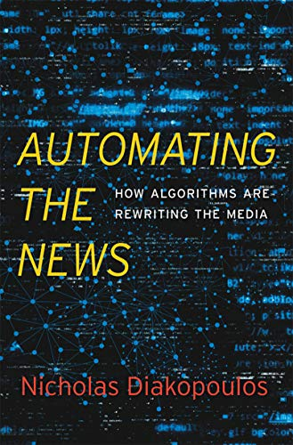 Buchcover: Automating the news