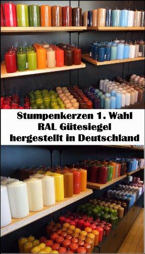 Wibel GmbH 6 kg Qualitäts Stumpenkerzen Paket *NEUWARE* Kerzen (5,17/kg)