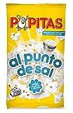 Popitas - Palomitas Saladas Para Microondas, Bolsa 100 g - [pack de 8]
