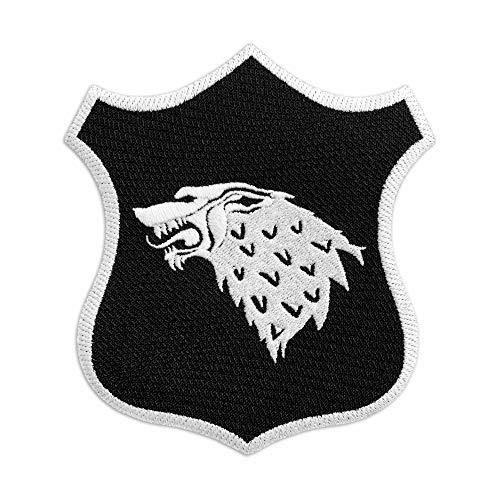 Parche bordado Game of Thrones Stark Shield planchar