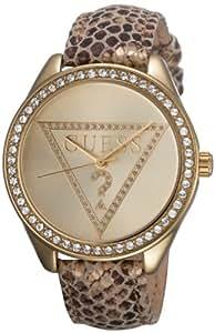 Guess - W70015L2 - Montre Femme - Quartz Analogique - Bracelet Cuir Multicolore