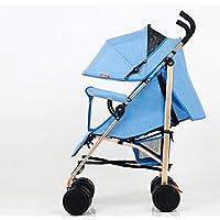 El cochecito de los niños, cochecito de bebé, ultraligero puede sentarse se puede doblar