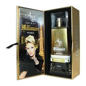 Lomani Ab Spirit Millionaire Eau De Parfum Spray For Women, 3.3 Ounce