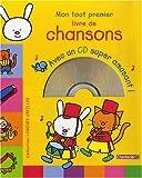 Longues oreilles - Mon tout premier livre de chansons avec CD (1CD audio)