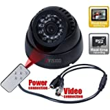 ZVision TV-Out CCTV Dome 24 IR Night Vision Camera DVR with Memory Card Slot Recording (BNC)
