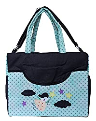 0Month+ New Born Baby Multipurpose Mother Bag With Holder Diapper Changing Multi Comprtment For Baby Care And Maternity Handbag Messenger Bag Diaper Nappy Mama Shoulder Bag Diaper Bag For Baby Multipurpose Waterproof Mother Bag Diaper Bag