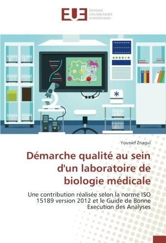 Démarche qualité au sein d'un laboratoire de biologie médicale